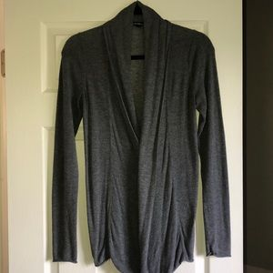 EXPRESS gray open long cardigan sweater Size Small